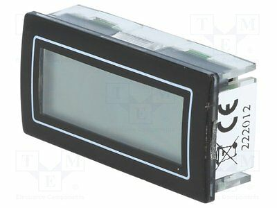 1 pc Counter: electronical; Type of count.signal: pulses; Range:9999