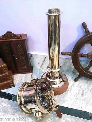 Nautical Ship's Engine Order Telegraph Brass Antique Home Decorative Gift