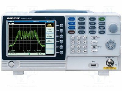 "1 pc Spectrum analyzer; Display 1:LCD TFT 5,6"" (640x480), color"