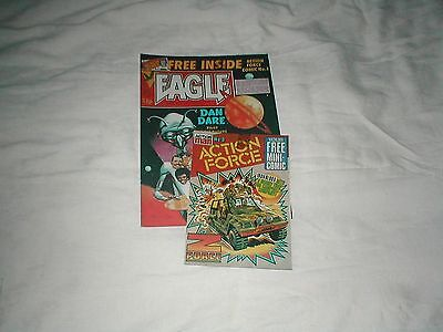 Eagle 3rd August 1983 with free Action Force mini comic #3