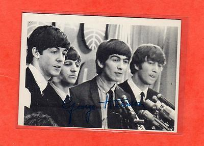 The Beatles US Original 1960's 2nd Series Topps B & W Card # 66
