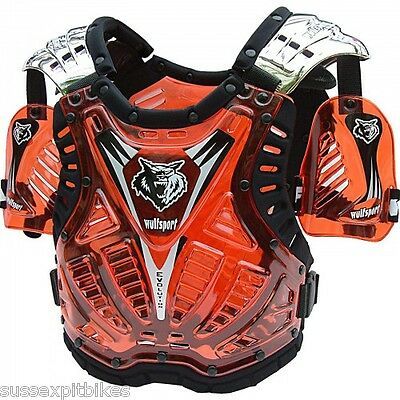 Wulfsport cub tabard upper body protection Age 8-13 years