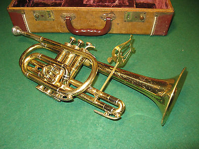 Holton Collegiate Cornet 1957 - Refurbished & Play Ready - Great Player!
