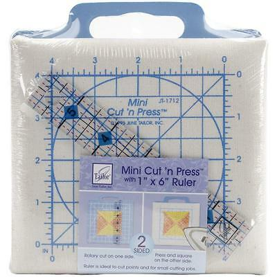 June Tailor-Quilter's  mini Cut 'n Press with ruler for patchwork etc