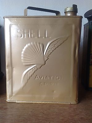Vintage Shell Aviation Spirit Oil Can