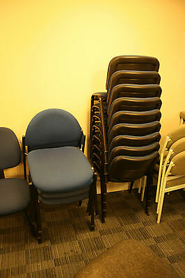 office chairs, various
