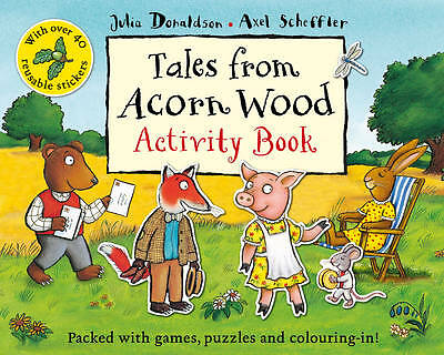Tales from Acorn Wood Activity Book by Julia Donaldson-9780330534246-G011