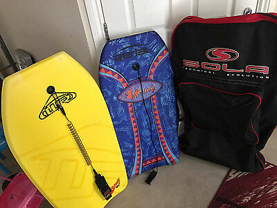 bodyboards with bag