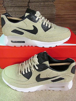 WOMENS NIKE AIR Max 90 Ultra Prm 'Oatmeal' Size 4.5 Eur 38