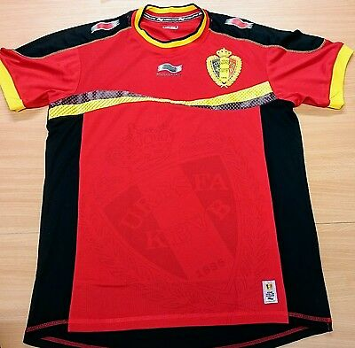 Belgium Home Football Shirt Size Large - Great Condition