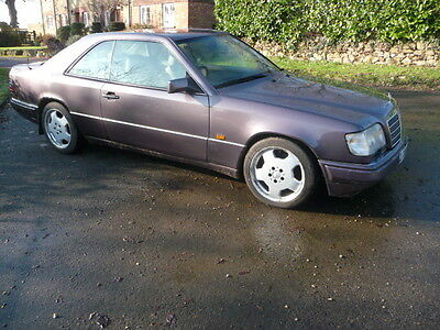 Mercedes W124 E320 Coupe 1993 New Mot. 4 Previous Owners.