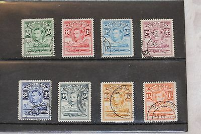 Basutoland = card of stamps, all used - lot 329