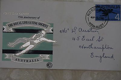 Australia First Day Cover , used - lot e252