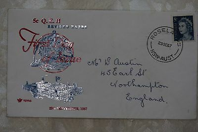 Australia First Day Cover , used - lot e255