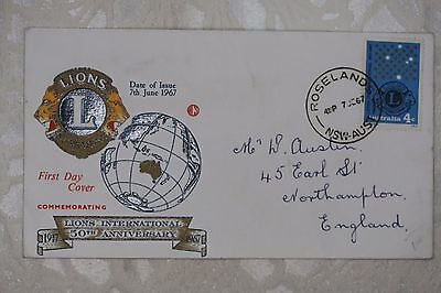 Australia First Day Cover , used - lot e260
