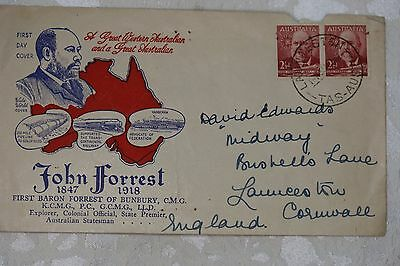 Australia First Day Cover, used - lot e216