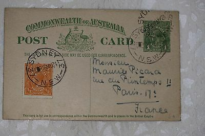 Australia Printed Postcard, used - lot e220