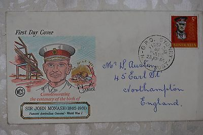 Australia First Day Cover , used - lot e242