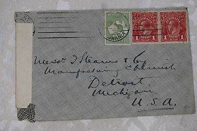 Australia Interesting Cover , used - lot e227