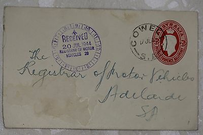Australia  Cover, used - lot e197