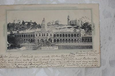 Australia  Old Postcard with stamps - lot e177