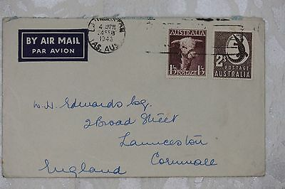 Australia Airmail Cover, used - lot e204