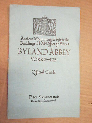 Good - Byland Abbey - Peers. C 1966-01-01 This edition 1937 Hmso