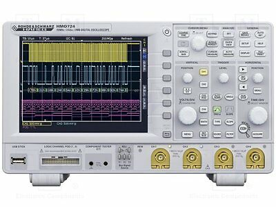 1 pc Oscilloscope: digital; Band: ?70MHz; Channels:4; 1Mpts/ch