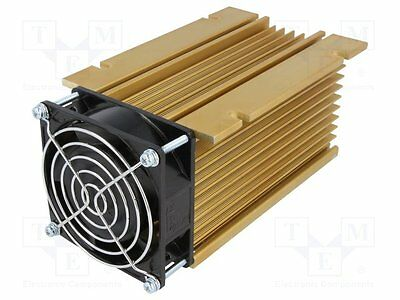 1 pc Heatsink: extruded; Y; for 3 phase relays; golden; L:150mm; H:81mm