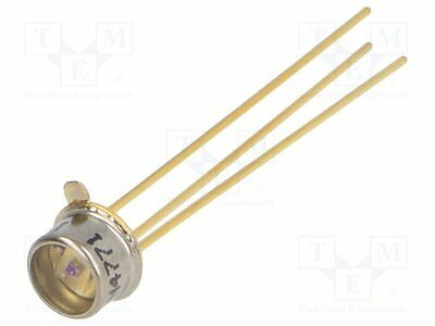 1 pc PIN IR photodiode; TO46; 1550nm; 500-1700nm; Mounting: THT; 0.1nA