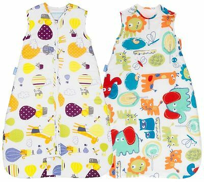 Grobag 2.5 tog TWIN Pack - Doodle Zoo + Up & Away 6-18 Months