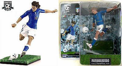 FRANCESCO TOTTI Action Figures Futbolistas Fanatico. (h 16cm) AS Roma. NUOVO NEW