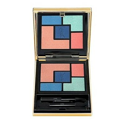 Ysl Palette Bleus Lumiere 5 Color Ready-To-Wear Eye Shadow Palette