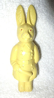 Vintage Yellow Celluloid Irwin Bunny Rabbit Dressed as a Policeman