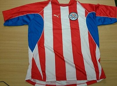 Paraguay Home Football Shirt - Size XL - Great Condition