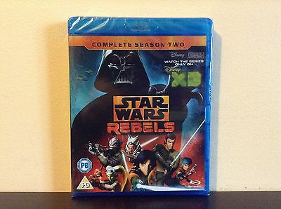 Star Wars Rebels - the complete season 2 [Blu-ray] *NEW*