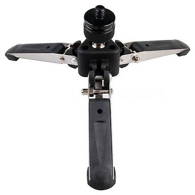 Universal Three-Foot Support Stand Monopod Base for Tripod Head DSLR L2S5 E8