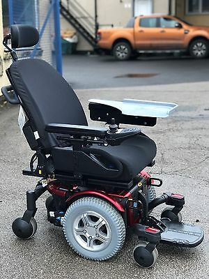 Pride Quantum 600 ,4Mph, Mwd,  Electric Mobility Powerchair Wheelchair Scooter