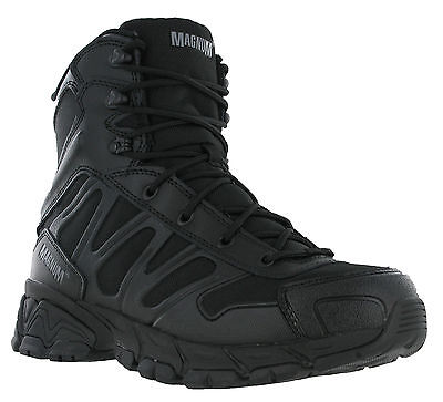 Magnum Uniforce Mens Leather Army Combat Police Mesh Lace Rustproof Boots UK6-12