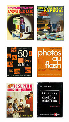 6 LIVRES TECHNIQUE sur la PHOTO de Paul Montel Collection ◊