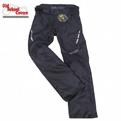 Textile Armoured Motorcycle Trousers Waterproof Trik Moto Rst Motorbike Superb
