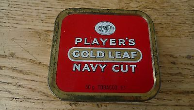Old tobacco tin - Player's