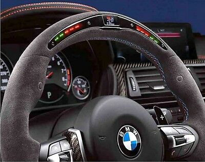 New Genuine BMW F80 F82 F83  M Performance Electronic Display Steering Wheel
