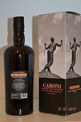 Rum CARONI 2000 15y.o. Rare Single Cask n° 3767  Velier with box