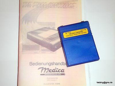 The Final Cartridge - Commodore C64 / C128 - Fast Load Freezer - Top-Zustand