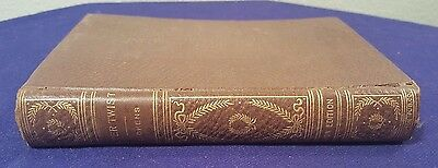 Antique Late 1800's OLIVER TWIST Hardcover Book by CHARLES DICKENS Avon Edition