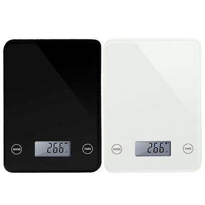 Digital Weighing Kitchen Scale 5Kg LCD Electronic Glass Cooking Food Postal