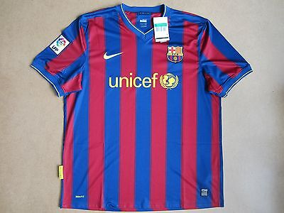 2009-10 Barcelona Nike Home Shirt *BNWT* XL