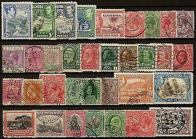 Kleines Lot British Commonwealth Selection