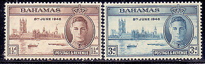 Bahamas Stamp Victory & King George VI 1946 MLH.